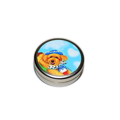 トリーツ缶:丸型【ミルクトイプー(ブルースカイ)】
