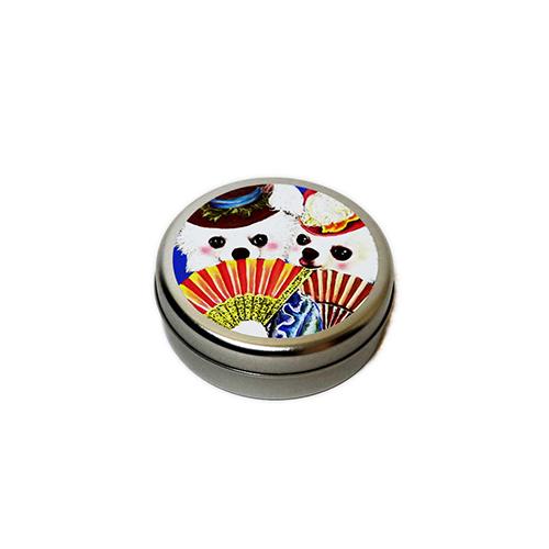 トリーツ缶:丸型【マリーチワワ】